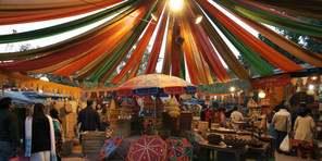 Indian handicrafts bazaar - Dilli Haat