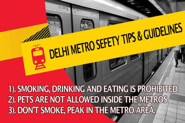 Delhi Metro Safety Tips & Guidelines