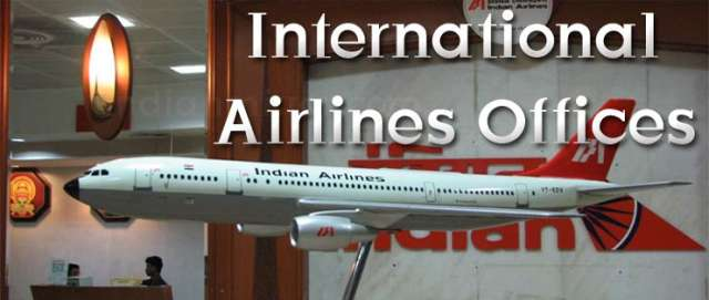 International Airlines Offices in Delhi/NCR